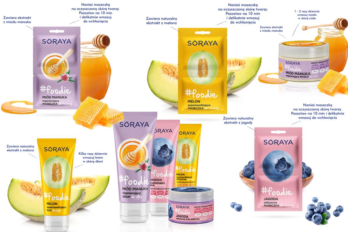 Kosmetyki Soraya #fodie