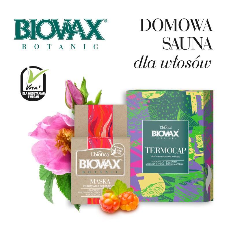 L'biotica Biovas Sauna dla włosów