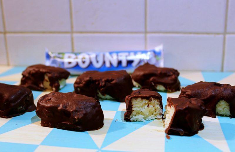 Przepis na batony batoniki Bounty kokosowy