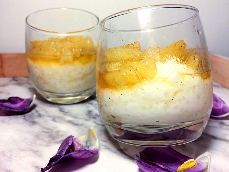 Pudding Pina Colada z tapioka przepis na
