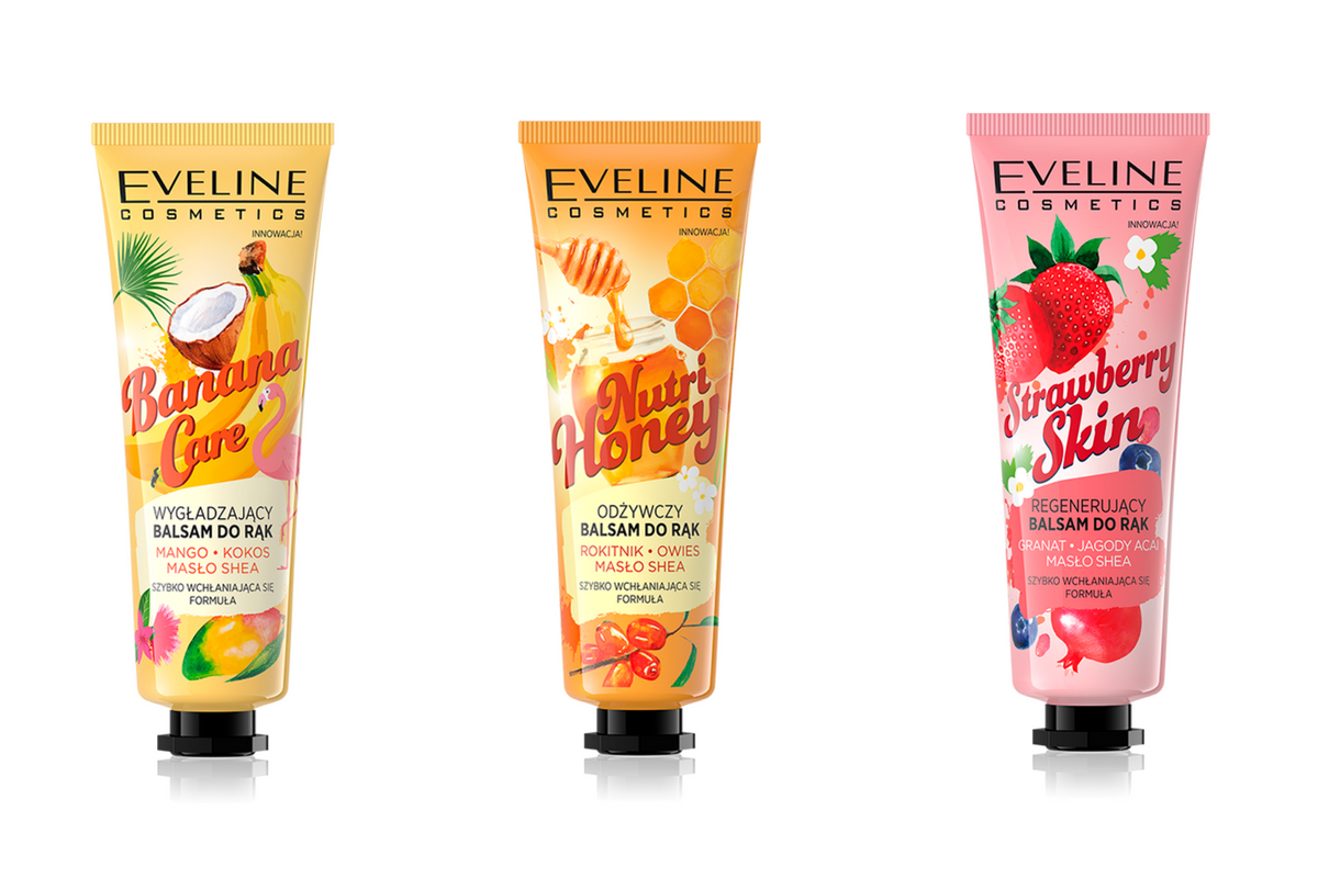 balsamy do rąk Eveline Cosmetics