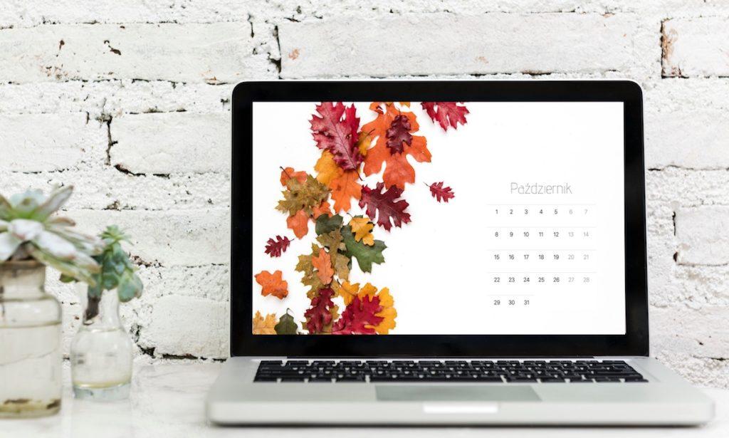 Tapeta napaździernik 2018 2