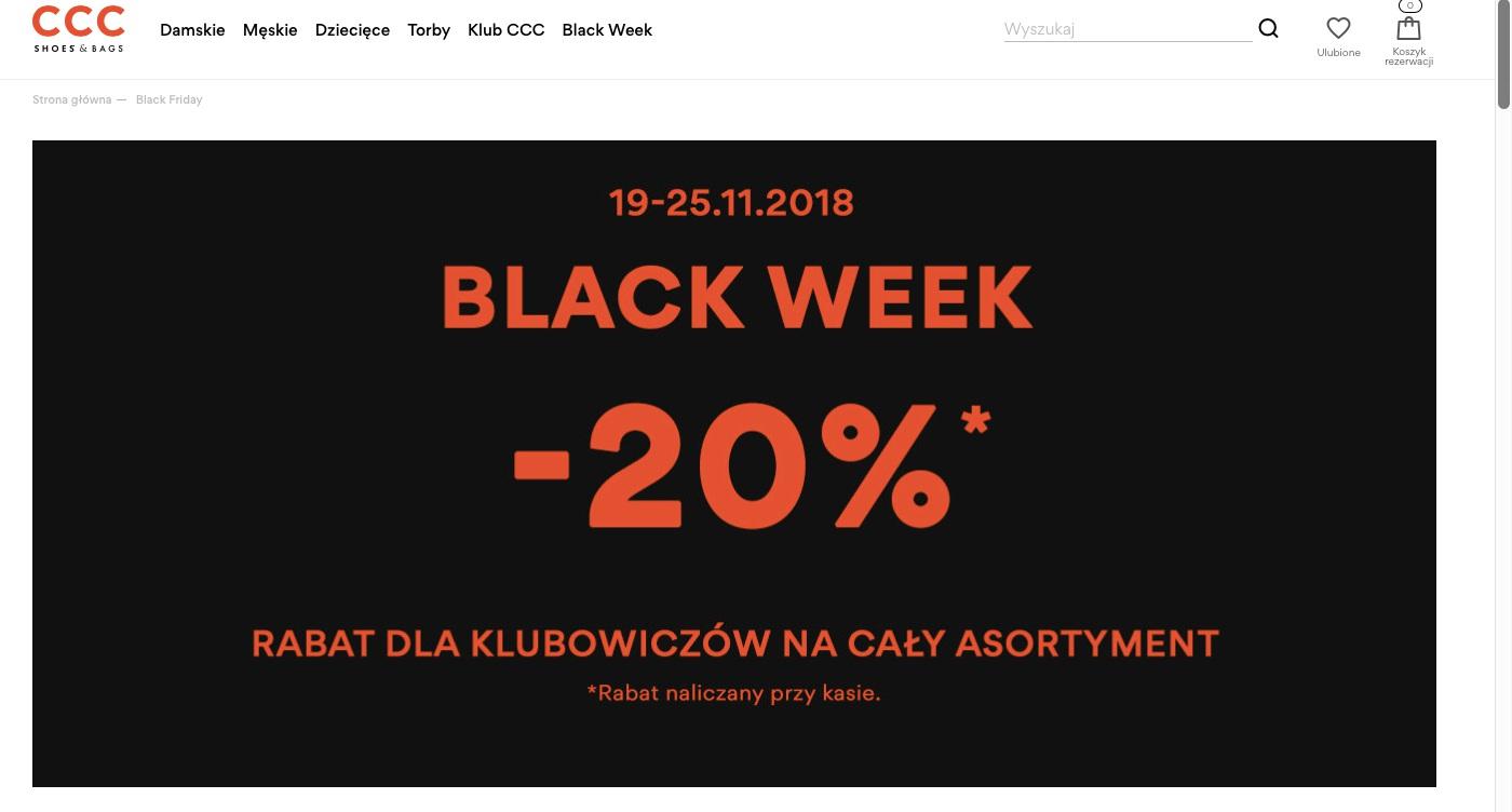 CCC Black Friday 2018