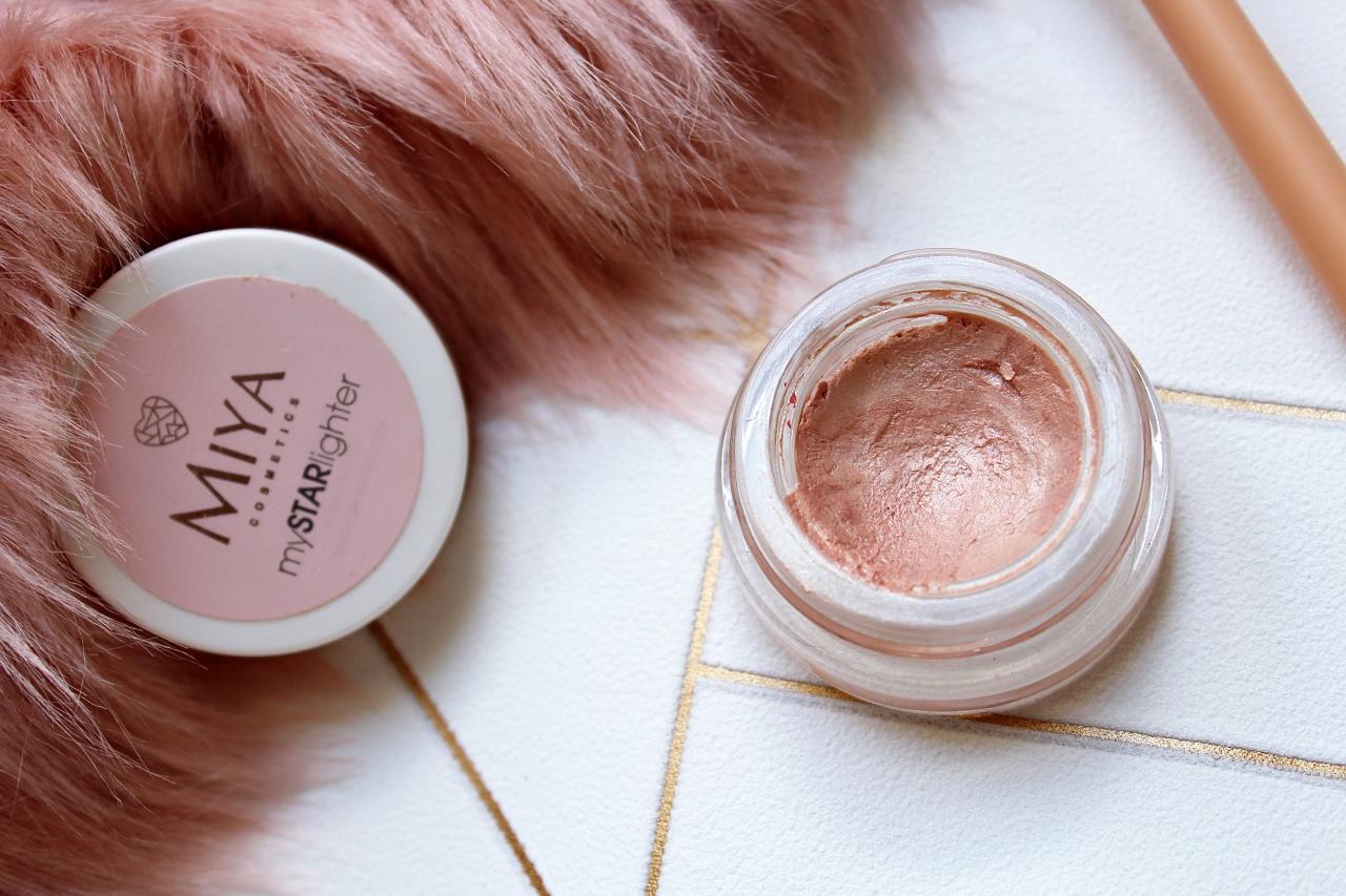 Miya Cosmetics rozświetlacz dotwarzy opinie