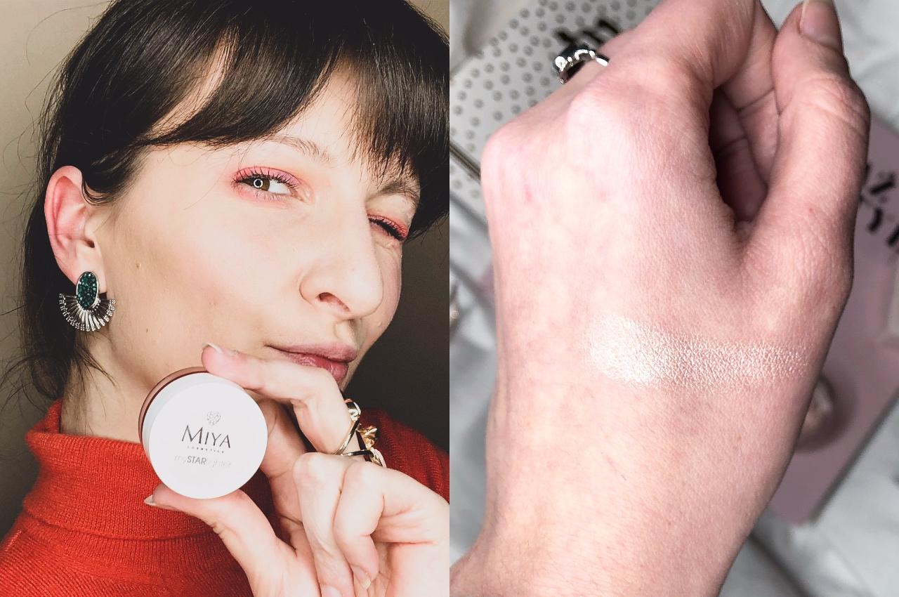 Naturalny rozświetlacz Miya Cosmetics mySTARlighter