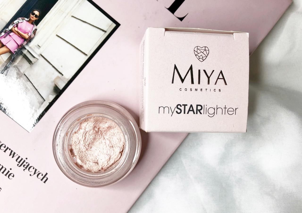 rozświetlacz dotwarzy Miya Cosmetics mySTARlighter formuła