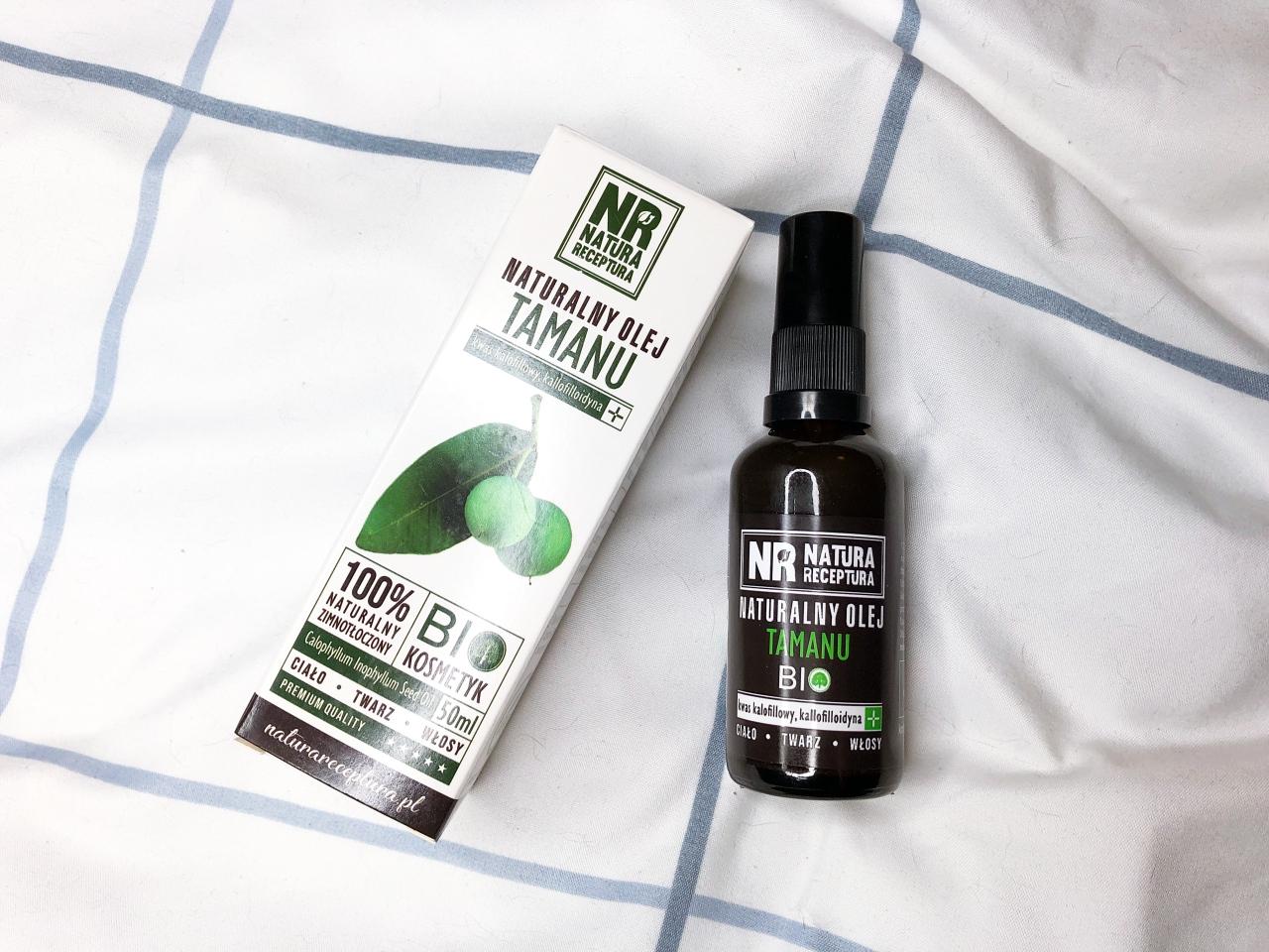 Naturalny zimnotłoczony olej tamanu