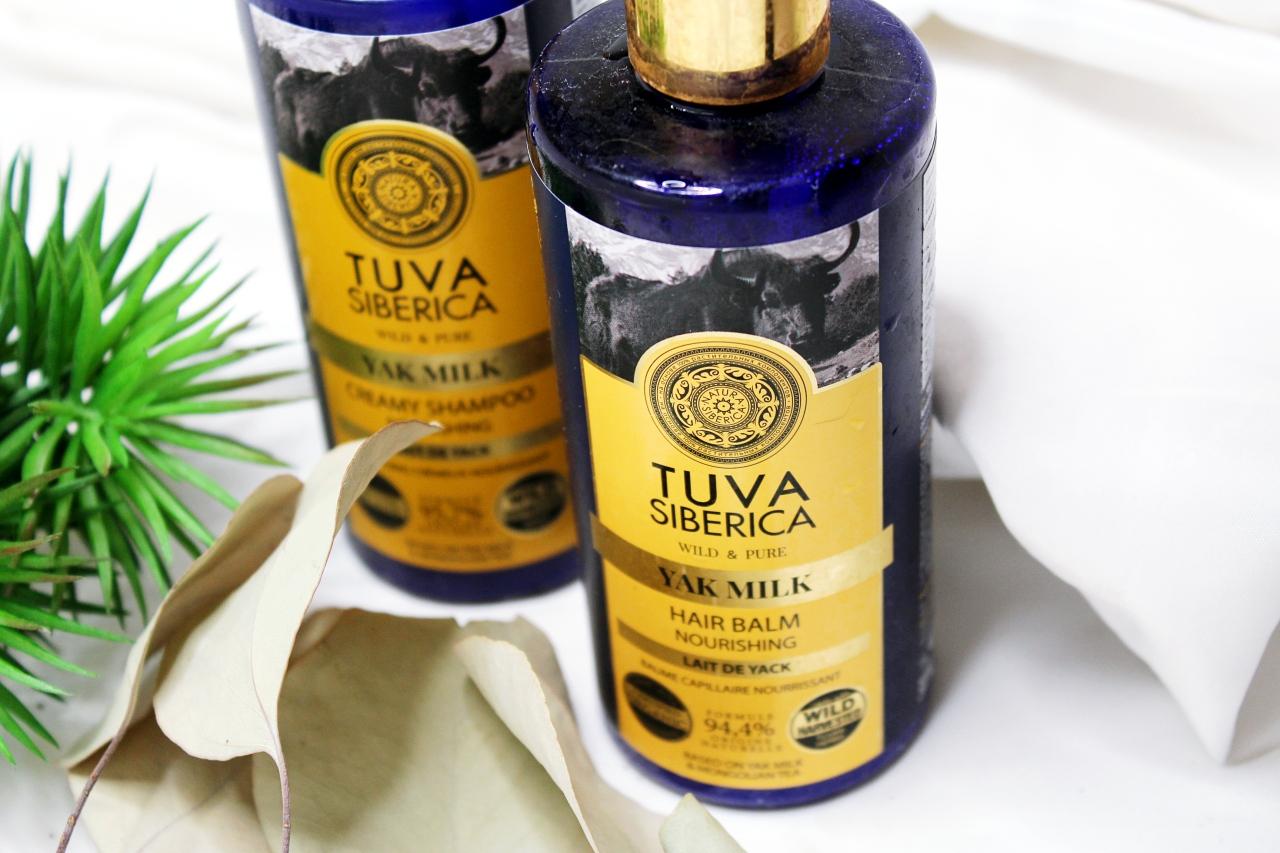Szampon iodżywka-balsam Tuva Siberica Yak Milk