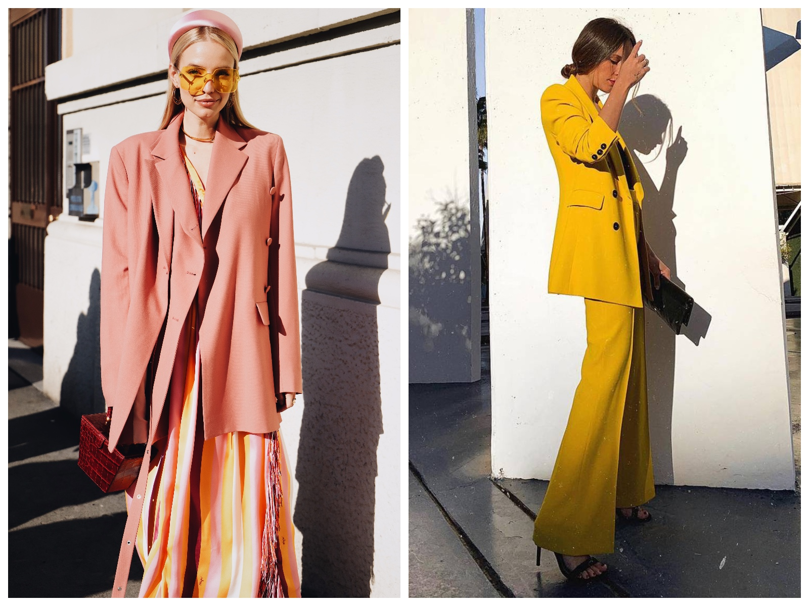 garnitur damski trendy wiosna lato 2019