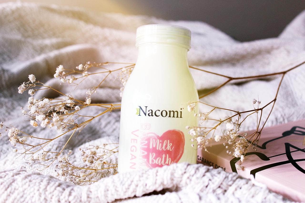 Mleko do kąpieli Nacomi o zapachu banana recenzja