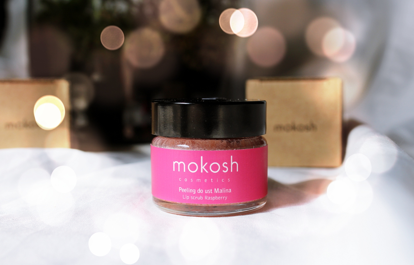 Peeling do ust Malina Mokosh Cosmetics opinie