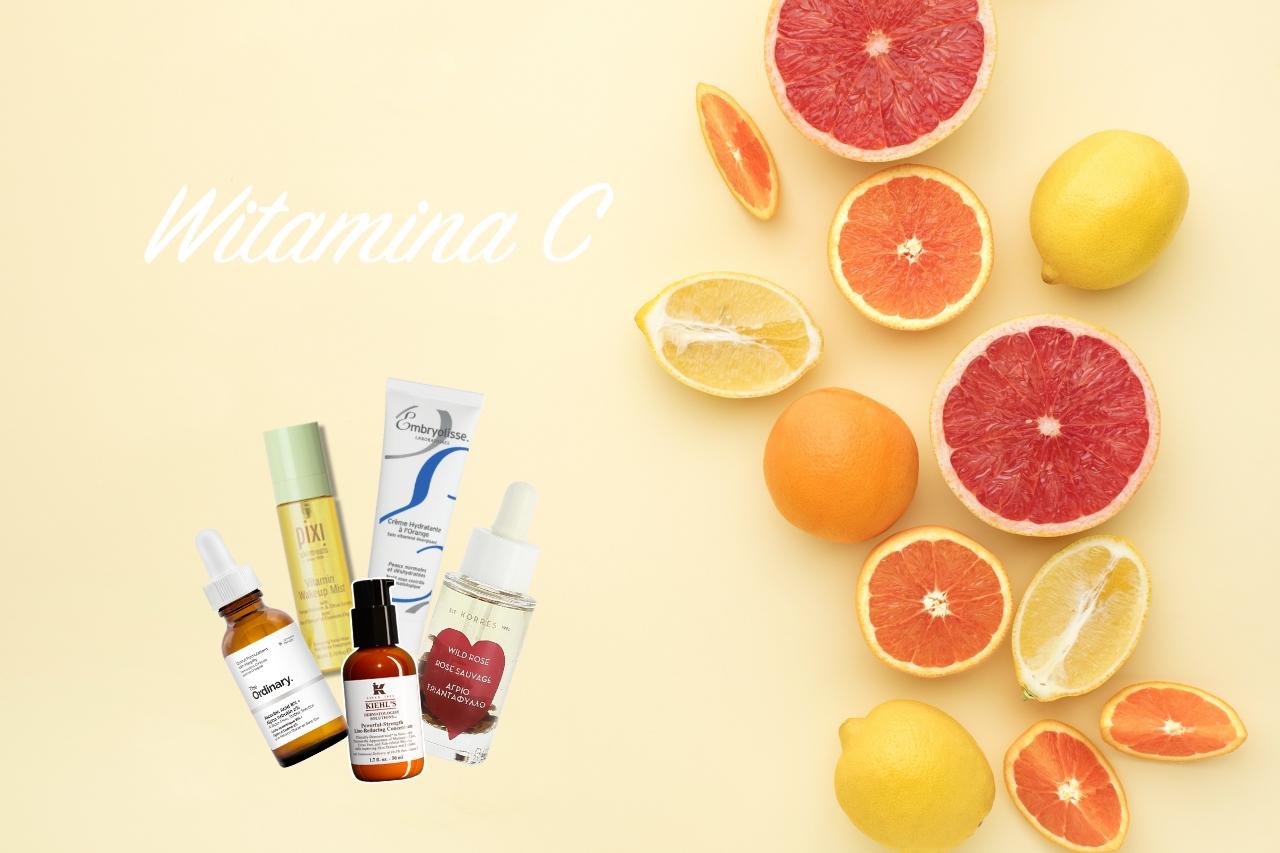 Witamina C w kosmetykach właściwości działanie na skórę