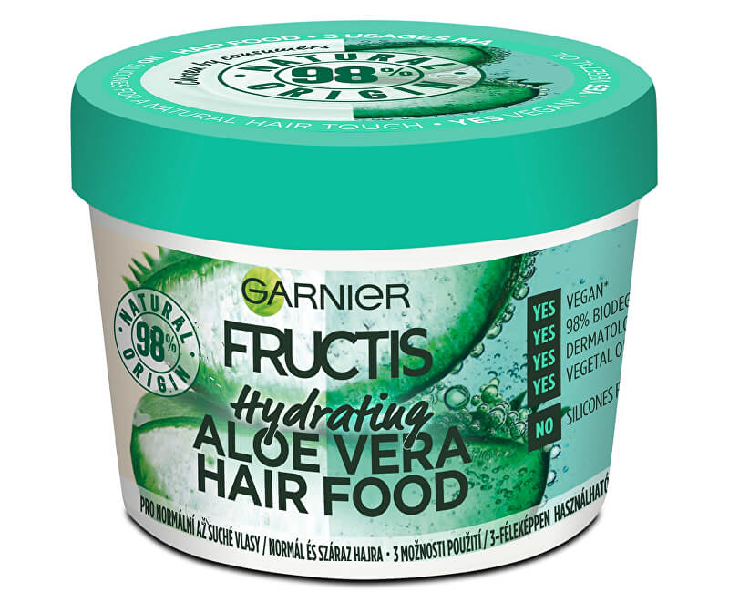 maska garnier fructis aloe hair food