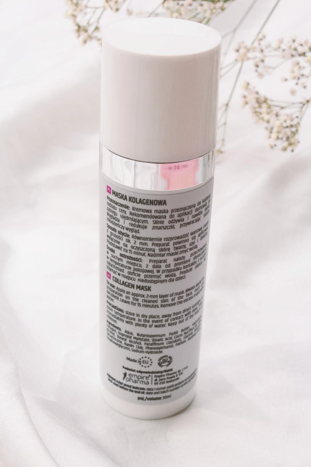 maska kolagenowa Mesoboost Collagen Forte skład