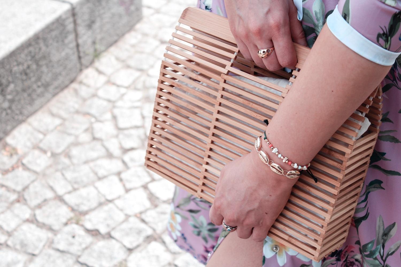Bambusowa torebka modna blog