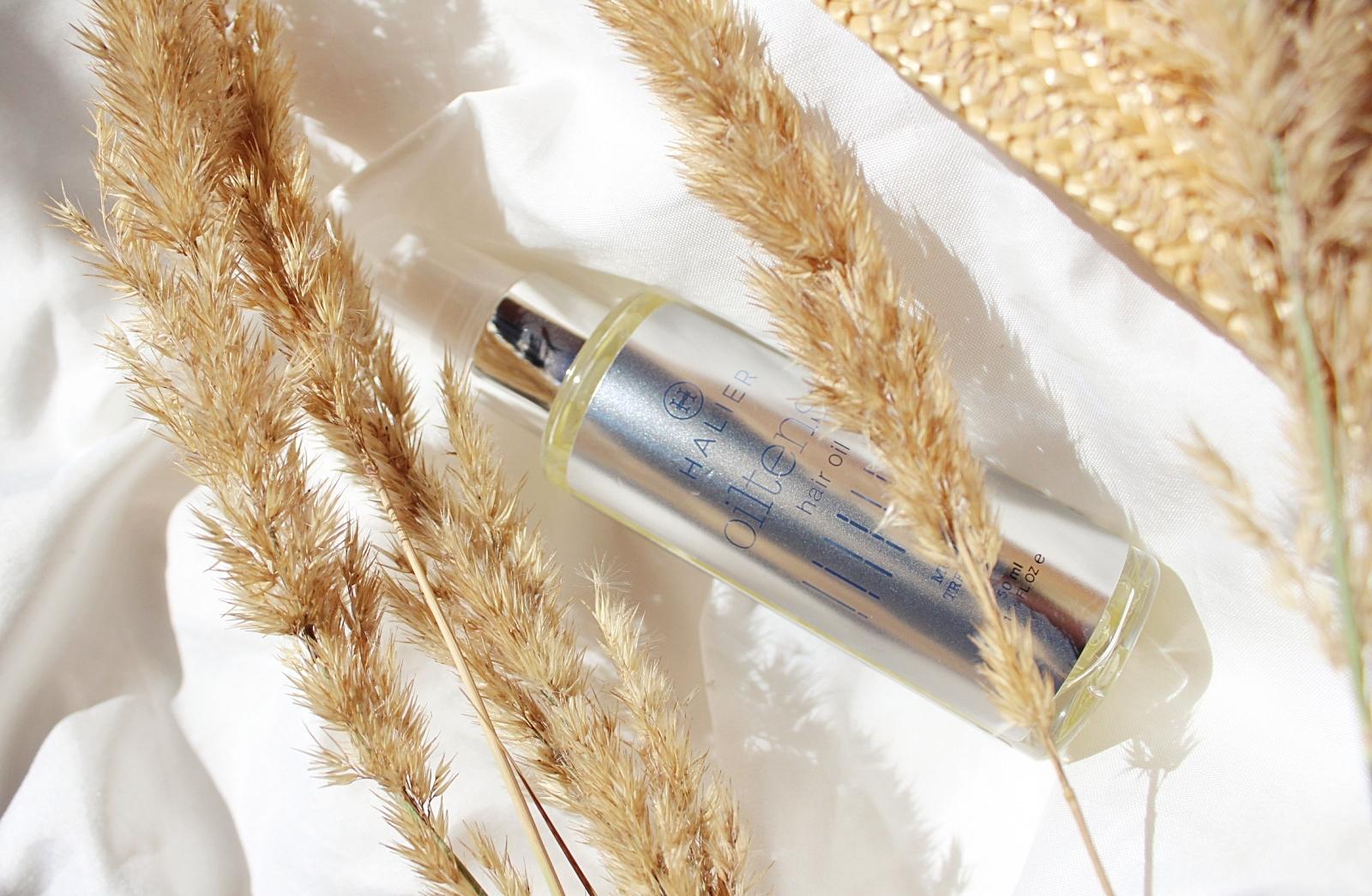 Olejek do włosów Halier Oiltense skład