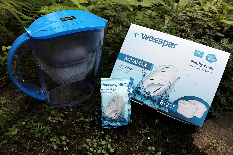 Zestaw dzbanek Wessper iwkład filtrujący AquaMax
