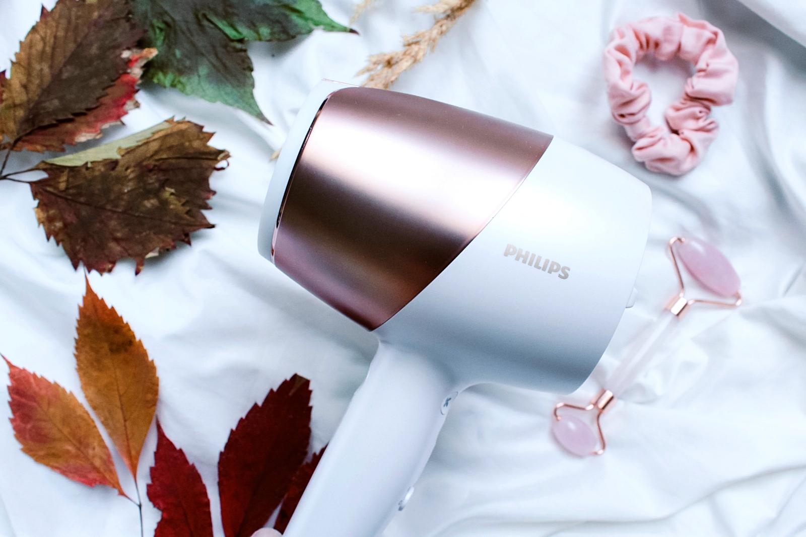 Suszarka dowłosów Philips SenseIQ stylizacja