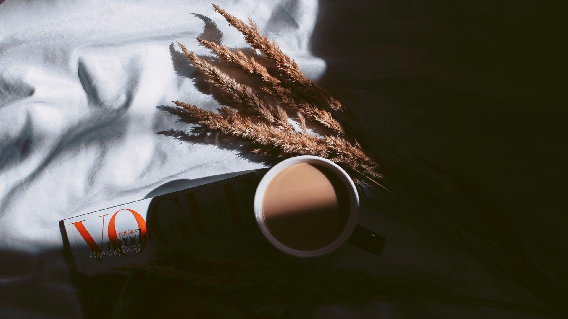 Tapety Październik listopad jesień 2019 kawa