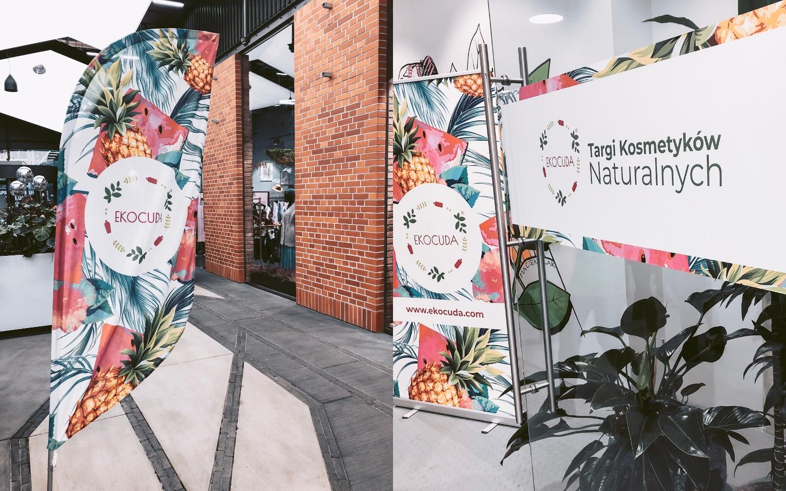 Targi kosmetyków naturalnych Ekocuda Warszawa listopad 2019