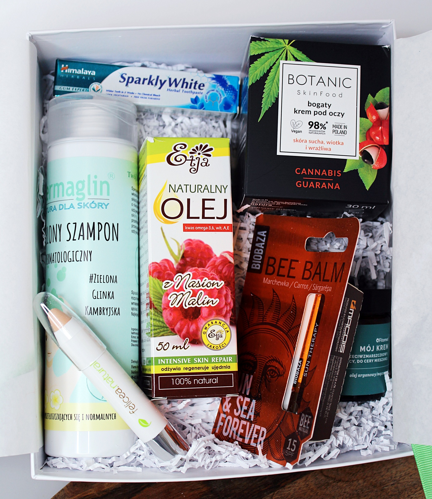 BeGlossy Eco Box #4 pudełko kosmetyki