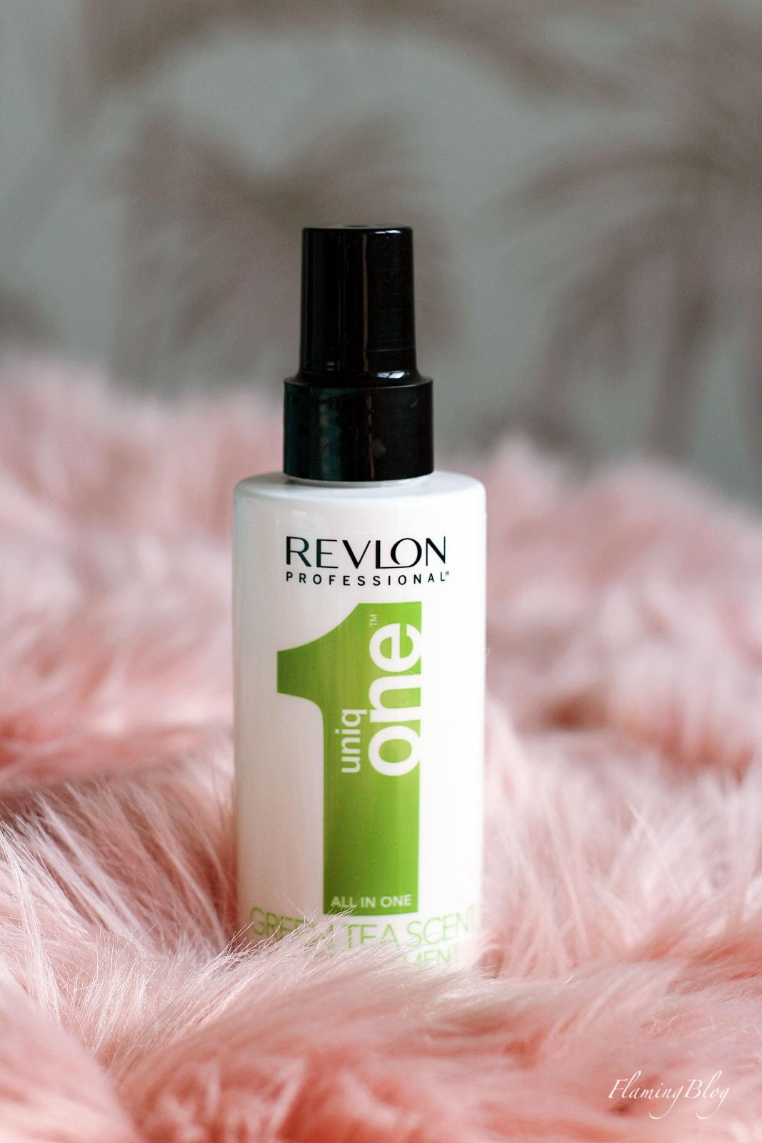 Revlon Professional Uniq One 1 Green Tea Hair Treatment opinie recenzja
