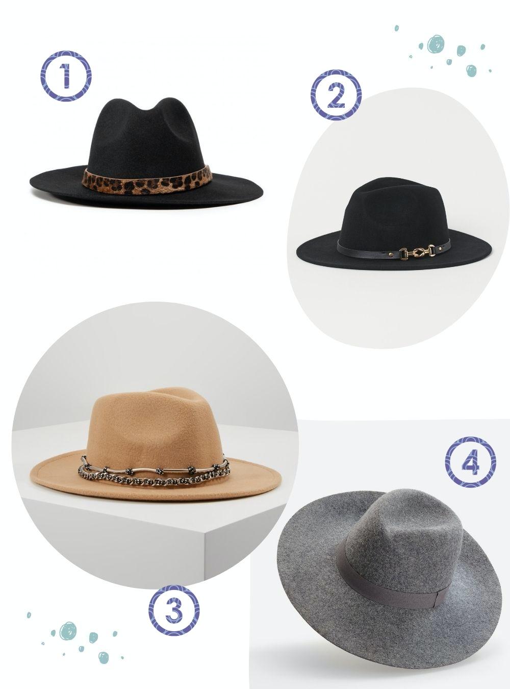 Modne akcesoria dowłosów jesień zima 2020 2021 kapelusze