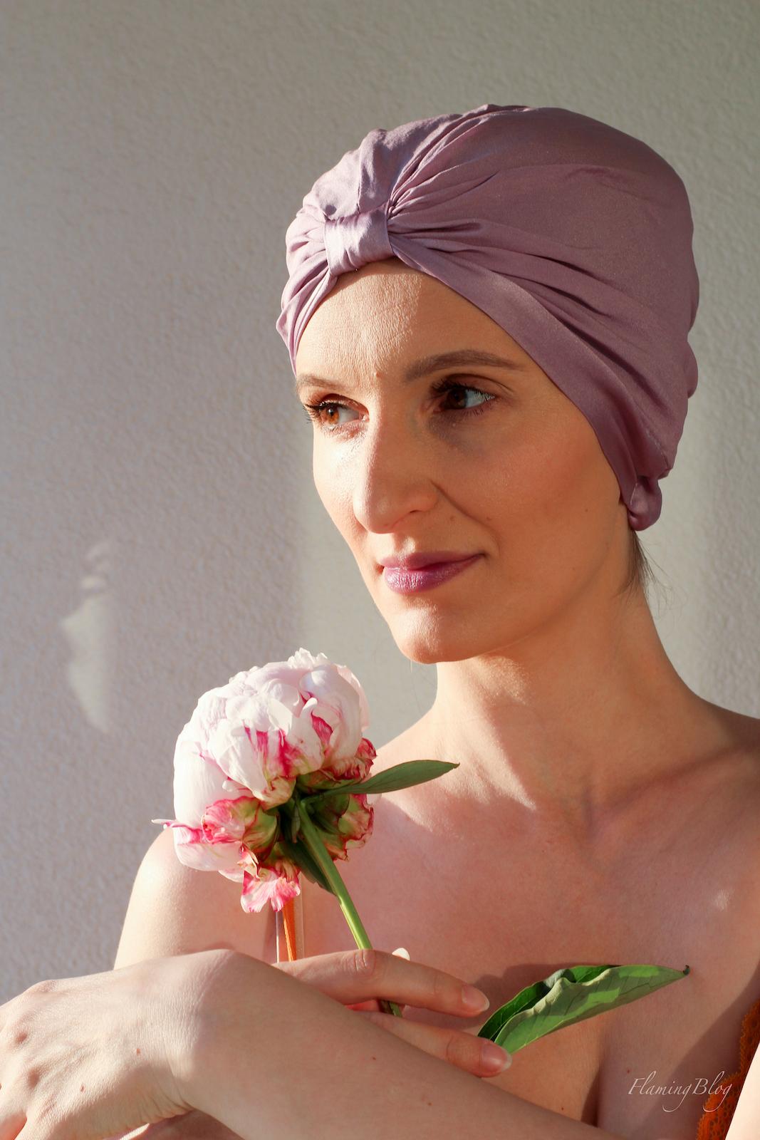 turban jedwabny ALMANIA jak nosić