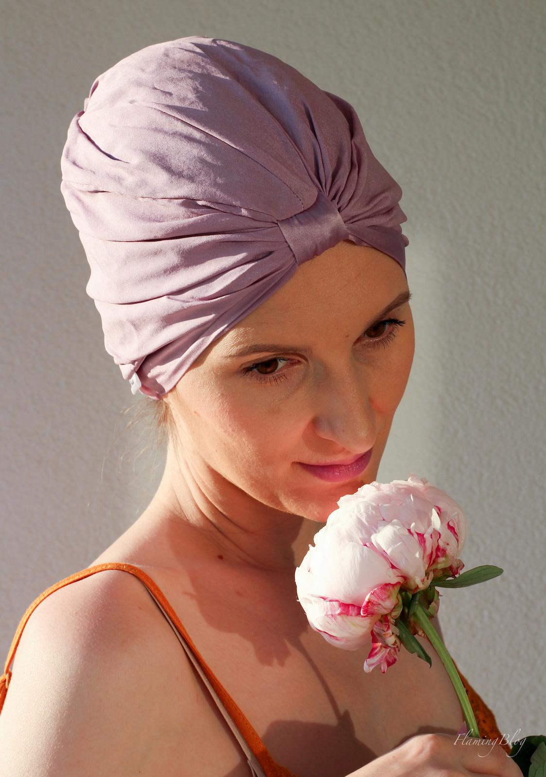 turban jedwabny czepek ALMANIA