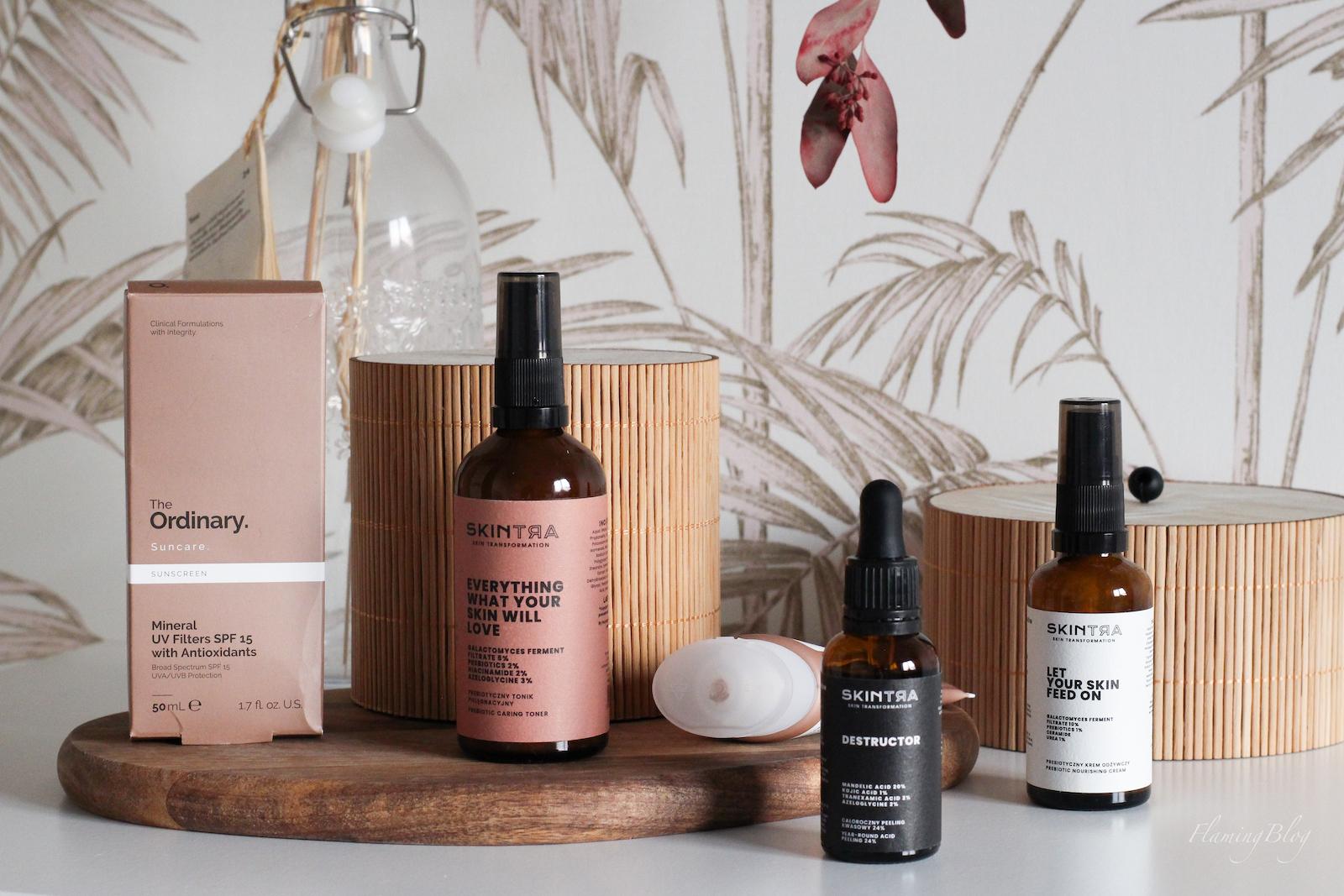 kosmetyki SkinTra i The Ordinary