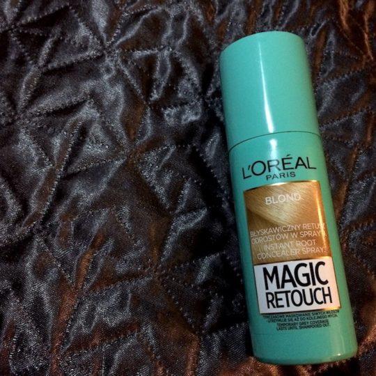 Spray L'Oréal Magic Retouch - rozczarowanie miesiąca? Recenzja
