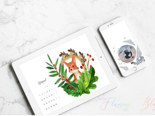 Do pobrania: Tapety na pulpit i telefon z kalendarzem na listopad 2018